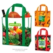 Laminated Non-Woven Grocery Tote - Laminated non-woven grocery tote bag.
