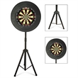 Dartboard with portable stand - Dartboard with portable stand