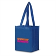 """Reusable Economy Size Laminated Bag 9.5""""W x 11.75""""H x 7""""G - Non-woven tote bag made of 90 GSM non-woven polypropylene with laminated matte finish"""