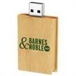 4GB Eco Book Wood Drive Tier 1 - Wooden book USB 2.0 drive.