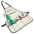 8 pc Garden Apron Set - 8 pc garden apron set. Apron, gloves, twist tie roll and gardening tools.