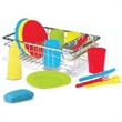 Wash & Dry Dish Set - Toy wash and dry dish set. Includes 24 pieces.