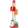 Dust, Sweep & Mop - Toy dust, sweep and mop set.Includes 6 pieces.