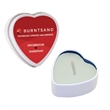 Eco Friendly Soy Candle In Valentines Day Heart Tin