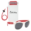 Poolside Fun Budget Kit - Waterproof phone pouch with rubberized sunglasses