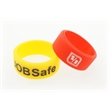 Fingerband debossed - Recycled Silicone Finger Band with Debossed Logo.
