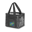 "Shiny laminated Reusable Cooler Lunch Bag 12.5""Wx14""Hx8""G - Cooler lunch bag made from 80 GSM non-woven material"