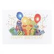 Colorful Presents Happy Birthday Card - Birthday card with colorful gifts.