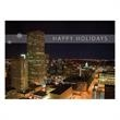 Downtown Denver Holiday Card - Holiday card featuring downtown Denver.