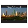 Downtown Dallas Holiday Card - Holiday card with downtown Dallas.