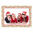 Candy Cane Photo Card - Candy cane photo holiday card.