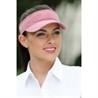 Breeze Visor- Closeout - 100% cotton, pigment-dyed twill visor.