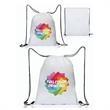 Full Color Drawstring Bags