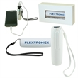 Power Bank With Lanyard - Power bank with lithium battery to charge your devices. With lanyard.