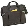 """Business Portfolio - 600 denier polyester business portfolio measuring 16"""" x 13"""" x 4"""" and available in black or royal."""