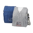 Jersey Sweatshirt Insulated Cooler Bag - Nylon sweatshirt cooler bag with mesh pocket for water bottle (not included).