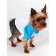 AA Black & White Poly-Cotton 3/4 Sleeve Dog Raglan - A two-tone 3/4 Sleeve Raglan for dogs or any four-legged friend. Blank.