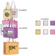 "Domestic Bags, Metallic Non-Woven, Embossed Gloss - Domestic Bags, Metallic Non-Woven, Embossed Gloss, 8"" x 5"" x 10"" x 5"", 18"" handle."