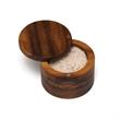 Acacia Spice Box with Swivel Cover - Acacia Spice Box with Swivel Cover