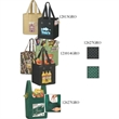 """Grocery Bags Non-Woven Polypropylene - DOMESTIC BAGS, Husky Sonic Weld Line, 12"""" x 6"""" x 27""""."""