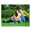 Fully Customizable Value Photo Card - Your photo graces the entire front of this value size Holiday Card.
