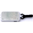 Slim rectangular safety reflector