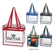 Clear Tote Bag with Zipper - Clear Tote Bag with Zipper.