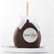 Custom Dark Chocolate Petite Apple - A gift box with custom sugar logo apples.