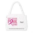Breast Cancer Awareness Stock Art Shape Card - Purse