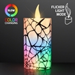 Spiderweb Halloween Candles with Color Change LEDs