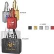 """Domestic Bags, Metallic Non-Woven - Domestic Bags, Metallic Non-Woven, Embossed Matte, 8"""" x 5"""" x 10"""" x 5"""", 18"""" handle."""