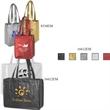 "Domestic Bags, Metallic Embossed Matte - Domestic Bags, Metallic Embossed Matte, 16"" x 6"" x 12"" x 6"", 28"" handle."