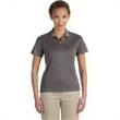 Devon & Jones Ladies' Pima-Tech (TM) Jet Pique Heather - Ladies' two-button placket jet pique heather polo.