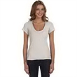 Alternative Ladies' Favorite T-Shirt - Ladies' favorite T-shirt. Deep V-neck. Front left-chest pocket. Contemporary fit.