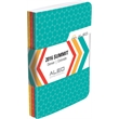 """Color Tri Pac Seminar Pads w/ Graphic Wrap - Three 5.5"""" x 8.5"""" Full-Color Wraparound Seminar Pads with 50 sheets of paper and Graphic Wrap"""