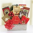 Holliday Festive Feast - On bulk orders Gift Basket can be personalized with branded hangtag.