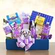 Lavender Relaxation Gift Box - Lavender Relaxation Gift Box holds everything needed to recreate a pampering day at the spa.