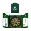 Dartboard - Standard size dartboard with wood case.  Includes 6 darts, chalk, and chalk boards.