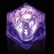 "Light Up Premium LitedIce Brand Ice Cube, blank - 1 3/8"" lighted glow premium ice cube, blank."