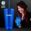 Light Up Blue Deluxe Double Wall Tumblers