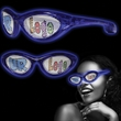 Blue Custom LED Billboard Sunglasses - Blue Custom LED Billboard Sunglasses.