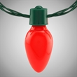 Christmas Bulb LED Necklace