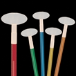 Oval Glow Light Up Swizzle Stick Toppers