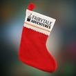 Red Felt Christmas Stocking - Imprinted