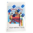 Travel Fun Activity Pad Fun Pack - Travel Fun activity pad fun pack with a 4-pack of unimprinted crayons.