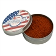 """Chicken and Rib Rub - Two ounce gift tin filled with polybagged chicken and rib rub seasoning with full-color 2"""" label."""