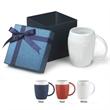 Small Box Gift Set CM-195 - 16 oz. matte ceramic sweater mug in a gift box.