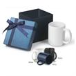 11 oz. Classic G Handle Ceramic Mug Small Box Gift Set - 11 oz. classic G handle ceramic mug in a gift box.
