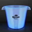 Blue LED Light Up Buckets For Ice & Drinks
