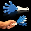 "Blue White & Blue Hand Clapper - 7"" blue-white-blue, high-quality hand clappers"